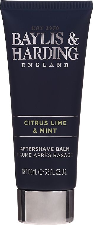 Комплект за мъже - Baylis & Harding Men's Citrus Lime & Mint Bag(hair/body/wash/100ml+face/wash/100ml+a/sh/balm/100ml+acc) — снимка N6