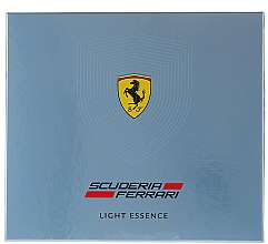 Парфюми, Парфюмерия, козметика Ferrari Light Essence - Комплект (тоал. вода/75ml + душ гел/150ml)