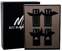 Парфюми, Парфюмерия, козметика Burberry Mr. Burberry - Комплект (тоал. вода/2x5 ml + парф. вода/2x5 ml)