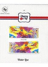 Парфюми, Парфюмерия, козметика Водни стикери за нокти, C191 - Euro Fashion Cherry On Top Water Line