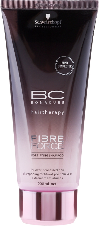 Безсулфатен шампоан за коса - Schwarzkopf Professional BC Fibre Force Fortifying Shampoo