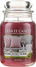 """Парфюмерия и Козметика Ароматна свещ """"Дом мил дом"""" - Yankee Candle Home Sweet Home"""