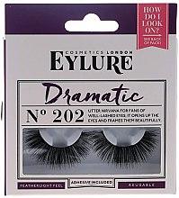 Парфюмерия и Козметика Изкуствени мигли №202 - Eylure Pre-Glued Dramatic