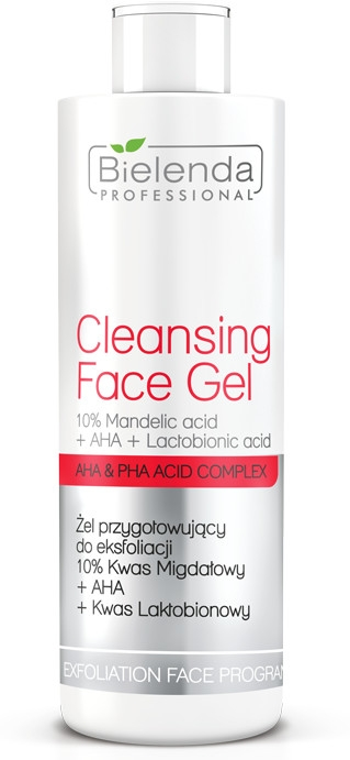 Гел за ексфолиация - Bielenda Professional Exfoliation Face Program Cleansing Face Gel