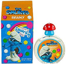 Парфюми, Парфюмерия, козметика The Smurfs Brainy - Тоалетна вода