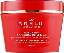 Парфюмерия и Козметика Маска за коса за след слънчеви бани - Brelil Solaire Intensive After-Sun Musk