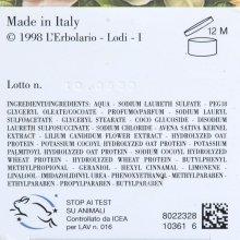"""Пена для ванны-гель для душа """"Белые цветы"""" - L'erbolario Bagnoschiuma Fiorichiari (мини) — снимка N3"""