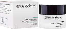 Парфюмерия и Козметика Нормализиращ крем за лице за мазна кожа - Academie Normalizing Cream Purifying and Matifying Care