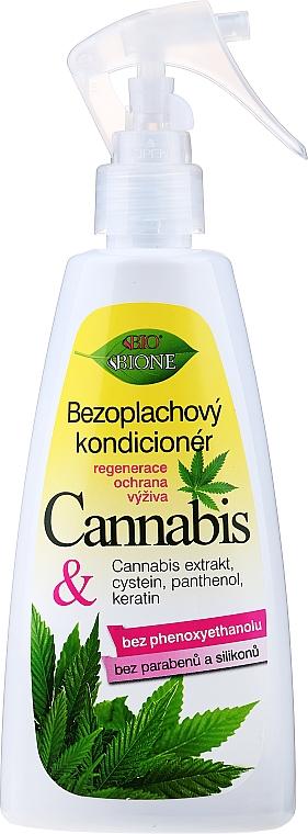 Спрей-балсам за коса с конопено масло, без изплакване - Bione Cosmetics Cannabis Leave-in Conditioner