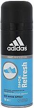Парфюми, Парфюмерия, козметика Дезодорант-спрей за обувки - Adidas Foot Shoe Refresh Deodorant