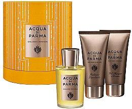 Парфюмерия и Козметика Acqua di Parma Colonia Intensa - Комплект (edc/100ml + sh/gel/75ml + ash/b/75ml)
