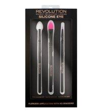 Парфюми, Парфюмерия, козметика Комплект силиконови четки за грим за очи - Makeup Revolution Silicone Eye Set