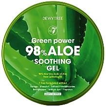 Парфюмерия и Козметика Успокощващ гел с алое - Dewytree Green Power Aloe Soothing Gel