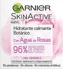 Парфюми, Парфюмерия, козметика Успокояващ и хидратиращ крем за лице - Garnier Skin Active Botanic Soothing Moisturizing Cream