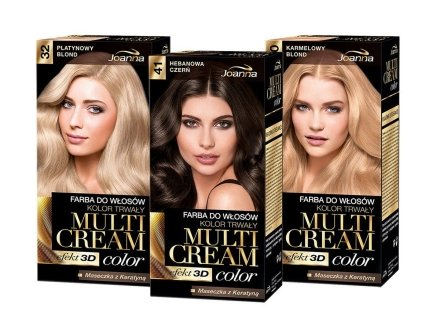 Боя за коса - Joanna Hair Color Multi Cream Color