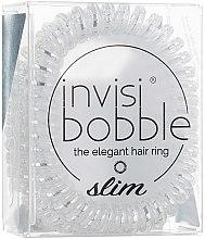 Парфюмерия и Козметика Ластик за коса - Invisibobble Slim Chrome Sweet Chrome