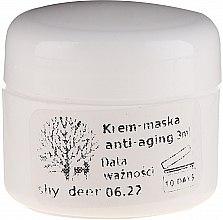 Парфюмерия и Козметика Крем-маска за лице против стареене - Shy Deer Natural Cream-Mask Anti-Aging (мостра)