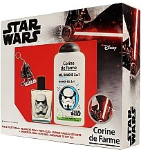 Парфюмерия и Козметика Corine de Farme Star Wars - Комплект (тоал. вода/50ml + душ гел/250ml + аксесоари)