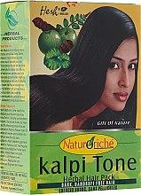 Парфюми, Парфюмерия, козметика Прахообразна маска за тъмна коса - Hesh Kalpi Tone Powder
