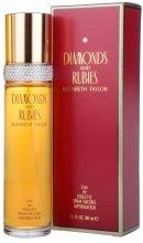 Парфюмерия и Козметика Elizabeth Taylor Diamonds&Rubies - Тоалетна вода