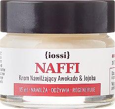 """Парфюми, Парфюмерия, козметика Хидратиращ крем за лице """"Авокадо и жожоба"""" - Iossi NAFFI Cream (мини)"""