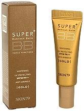 Парфюмерия и Козметика BB крем - Skin79 Super Plus Beblesh Balm SPF 30 PA++ (Gold) (мини)