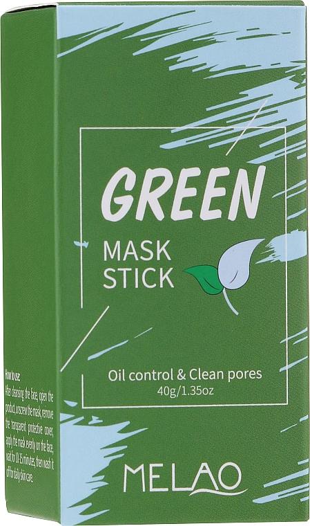 Стик маска за лице с органична глина и зелен чай - Melao Green Tea Purifying Clay Stick Mask
