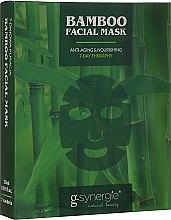 Парфюми, Парфюмерия, козметика Маска за лице - G-synergie Bamboo Face Mask