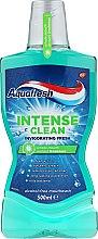 Парфюмерия и Козметика Вода за уста - Aquafresh Intense Clean Invigorating Freshness