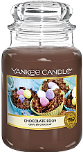 Парфюмерия и Козметика Ароматна свещ в бурканче - Yankee Candle Choccolate Eggs