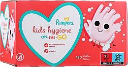 Парфюмерия и Козметика Детски мокри кърпички, 12х40 бр. - Pampers Kids On The Go
