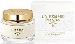 Парфюмерия и Козметика Prada La Femme Prada Velvet Body Cream - Крем за тяло
