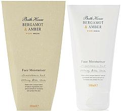 Парфюмерия и Козметика Bath House Bergamot & Amber - Хидратиращ крем за лице за мъже
