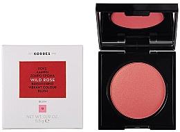 Парфюмерия и Козметика Руж - Korres Wild Rose Brightening Vibrant Colour Blush