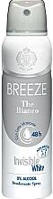 Парфюмерия и Козметика Breeze Deo Spray The Bianco - Дезодорант за тяло