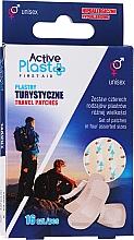 Парфюмерия и Козметика Комплект пластири за пътуване - Ntrade Active Plast First Aid Travel Patches
