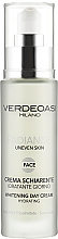 Парфюмерия и Козметика Избелващ дневен крем с хидратиращ ефект - Verdeoasi Radiance Whitening Day Cream Hydrating
