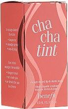 Парфюмерия и Козметика Течен пигмент за устни и скули - Benefit Chachatint (мини)