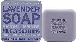 Парфюмерия и Козметика Сапун за ръце - Scottish Fine Soaps Vintage Fragrances Soaps In A Tin Lavander