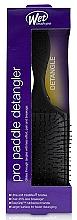 Парфюмерия и Козметика Четка за коса, черна - Wet Brush Pro Paddle Detangler Black