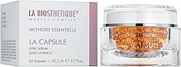 Парфюмерия и Козметика Регенериращи капсули за лице със серамиди и витамини - La Biosthetique Methode Essentielle La Capsule Lipid Serum
