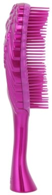Четка за коса - Tangle Angel Cherub FAB! Fuchsia Professional Detangling Brush (15см) — снимка N4