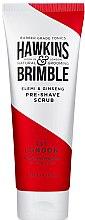 Парфюми, Парфюмерия, козметика Пилинг за лице преди бръснене - Hawkins & Brimble Elemi & Ginseng Pre Shave Scrub