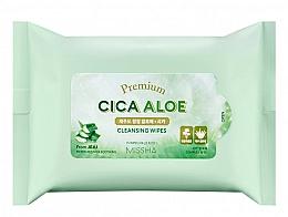 Парфюмерия и Козметика Почистващи кърпички с алое - Premium Cica Aloe Cleansing Wipes