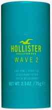 Парфюми, Парфюмерия, козметика Hollister Wave 2 For Him - Стик дезодорант