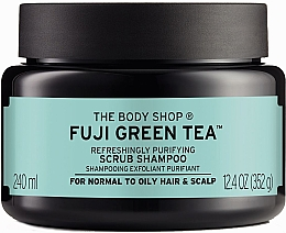 Парфюмерия и Козметика Скраб-шампоан за коса и скалп със зелен чай - The Body Shop Fuji Green Tea Cleansing Hair Scrub