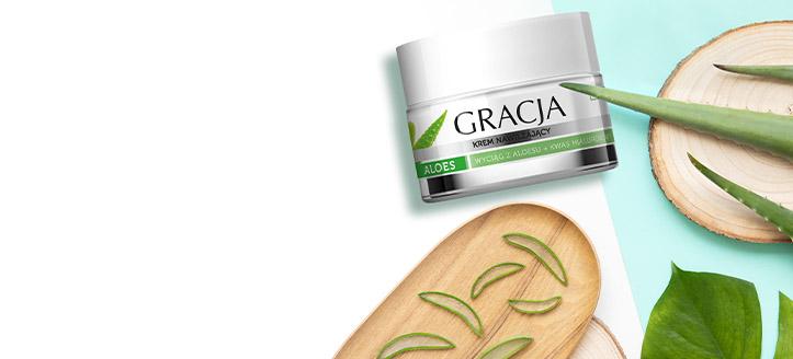 Получавате подарък хидратиращ крем при покупка на продукти Gracja за сума над 15 лв.