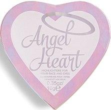 Парфюмерия и Козметика Палитра хайлайтъри - I Heart Revolution Angel Heart