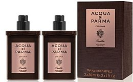 Парфюмерия и Козметика Acqua di Parma Colonia Leather Eau de Cologne Travel Spray Refill - Одеколон
