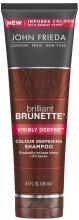 Парфюми, Парфюмерия, козметика Шампоан за тъмна коса - John Frieda Brilliant Brunette Visibly Deeper Shampoo